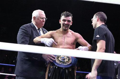 Jordy Weiss remporte le titre de champion de l'Union Européenne !